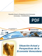 Situación Actual y Perspectivas de la Economía Venezolana