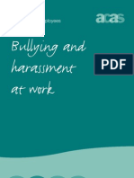 ACAS - Bullying and Harassment at Work [Guide for Employees]