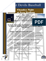 Chamber Night Flyer