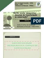 Gestão Escolar Democrática_PARTE_II