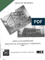Cartilla de la Construcción 1997