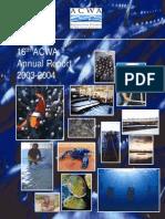 ACWA Annual Report 16th 2004