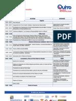 Agenda I Foro de Quito Ciudades y Organizaciones Responsables