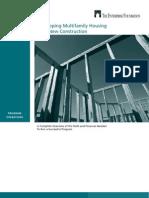 Developing Multifamily Housing