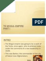 The Mogul Empire[1]
