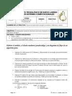 FP - Practica 3-1 - Arreglos y Matrices