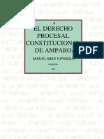 El Derecho Procesal Constitucional de Amparo-samuel Abad Yupanqui