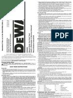 Dw660 Type-3 Manual