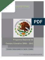 Programa Especial de Cambio Climático
