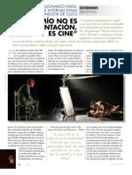 Cine TOMA8 pags.62-65 Gallo.ospina.Entrevista Leonardo Favio
