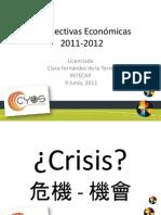 Perspectivas Economicas 2011 -2012