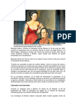 Manuela Saenz y Simón Bolivar