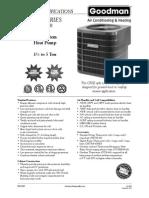 Goodman CPLE Series Spec Sheet