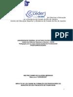 IMPACTO DA LEI 9394-96 NA FORMAÇÃO DE PROFESSORES
