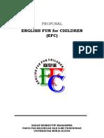 Proposal Efc Fkip Umk 2009