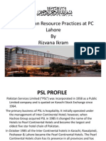 Presentation by Rizvana