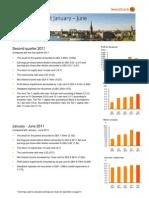 Swedbank's Interim Report Q2 2011