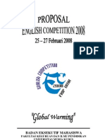 Proposal English Competition 2008