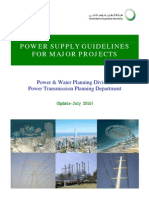 Power Sypply Guidelines for Major Project Jul-2010
