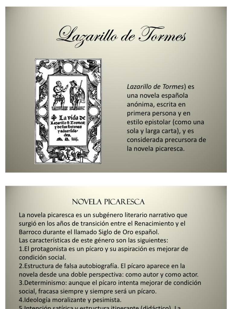 Lazarillo De Tormes Ppt