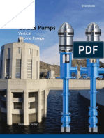 Goulds Vertical Turbine Pump