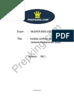 Prepking MD0-235 Exam Questions