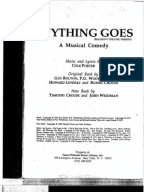 Anything Goes Script Cover