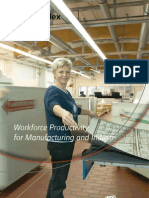 Workforce Productivity Manufacturing and Industry