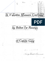 FBI Documents - St. Valentine's Day Massacre part 2