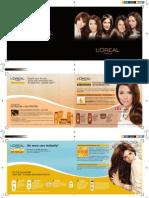 L'Oreal Elseve Brochure