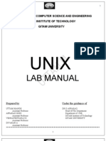 Unix Manual