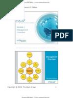 TOGAF V9 M1 Management Overview