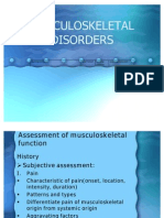 MUSCULOSKELETAL Part1