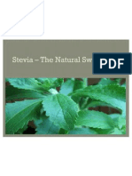 Stevia – The Natural Sweetner