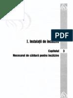 1. Instalatii de Incalzire - Cap 03 - Necesarul de Caldura p