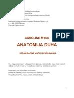 Caroline Myss - Anatomija Duha