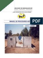 Manuel de procédures AEPA - Partie 4