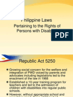 Laws Pertaining to SPED