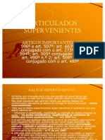 ARTICULADOS SUPERVENIENTES