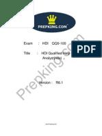 Prepking QQ0-100 Exam Questions