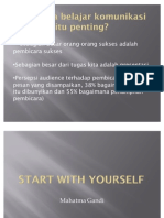 Presentasi Start With Yourself