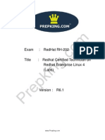 Prepking RH-202 Exam Questions