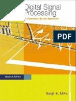 Digital Signal Processing - Computer Based Approach - Sanjit K. Mitra