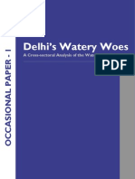 Delhi's Watery Woes