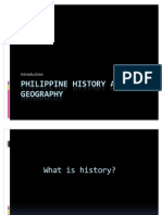 Philippine History and Geography I