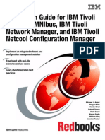 Integration Guide for IBM Tivoli Omnibus, IBM Tivoli Network Manager, And IBM Tivoli Netcool Configuration Manager