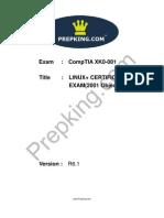 Prepking XK0-001V3 Exam Questions