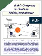 Chanukah's plaats op Israëls Feestkalender – Hubert_Luns