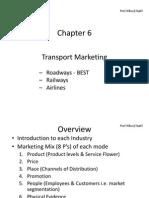 Chp 6 Transport Marketing