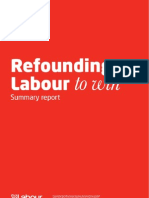 Refounding Labour - Interim Report